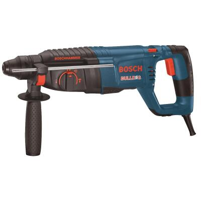 Bosch BULLDOG Xtreme 1 In. SDS-Plus 7.5-Amp Electric Rotary Hammer Drill