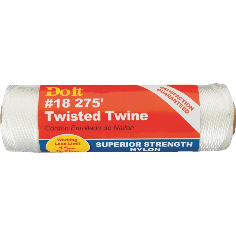 Do it #18 x 275 Ft. White Nylon Twisted Twine Image 2