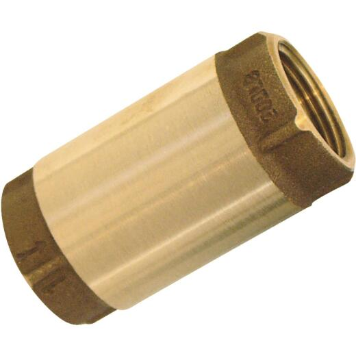 Simmons 3/4 In. Bronze Female Thread Check Valve
