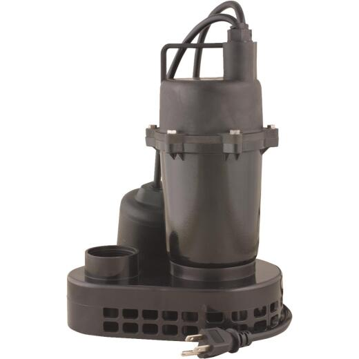 Do it 1/3 HP 115V Effluent and Submersible Sump Pump