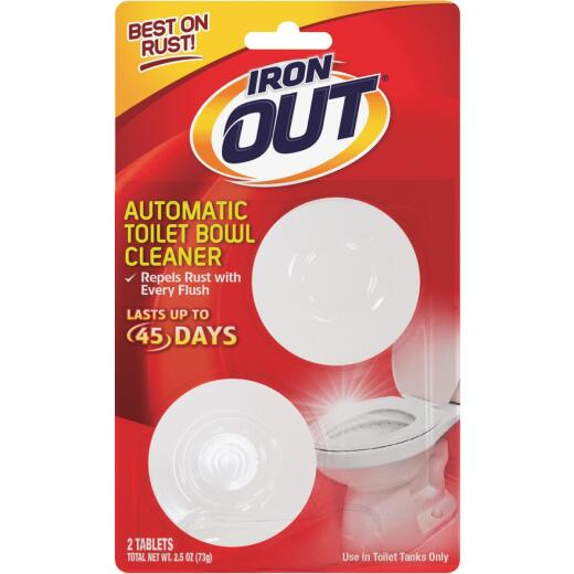 Iron Out Automatic Toilet Bowl Cleaner (2-Pack)