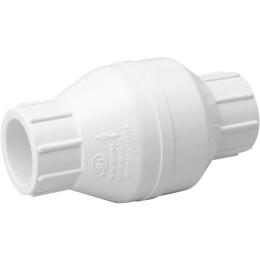 ProLine 1-1/2 In. PVC Schedule 40 Solvent Check Valve