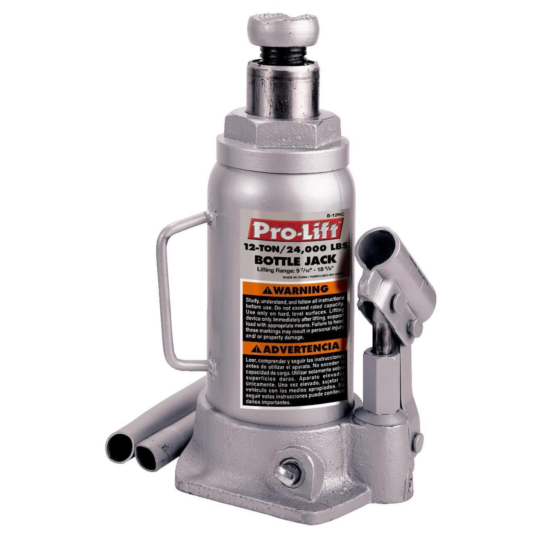 Pro-Lift 12-Ton Hydraulic Bottle Jack Image 1