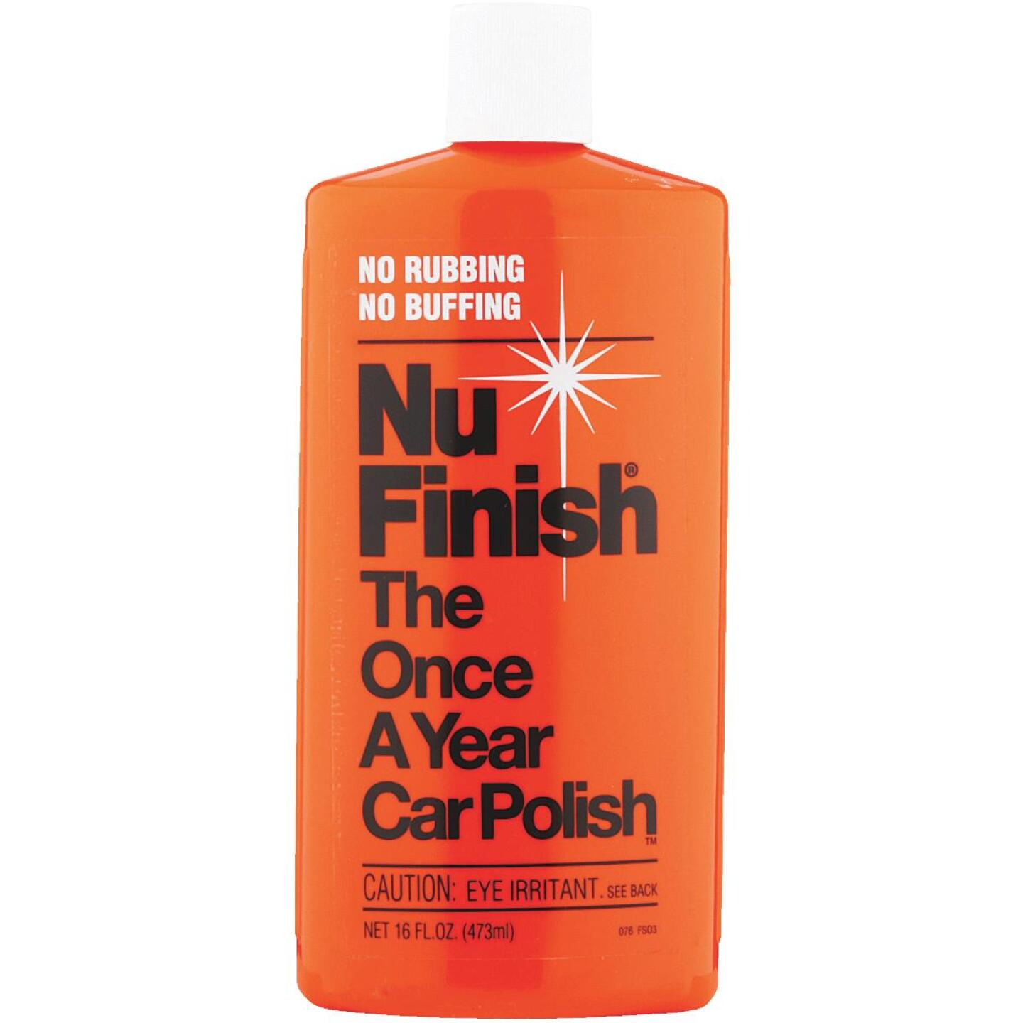 Nu Finish 16 oz Liquid Car Wax Image 1