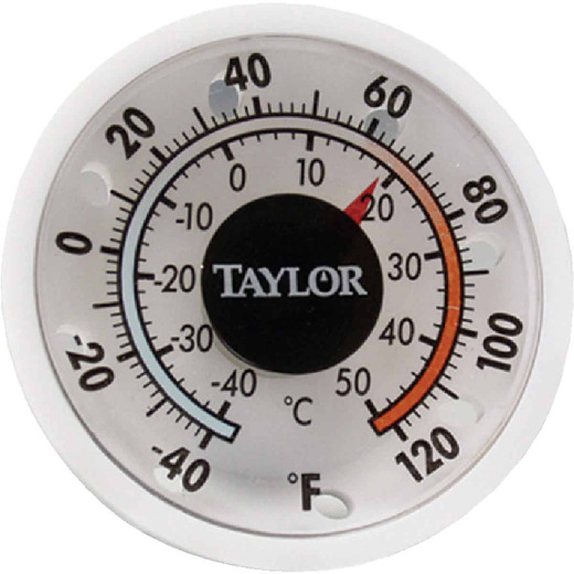 Taylor 1-3/4 In. Dia. Stick-on Thermometer