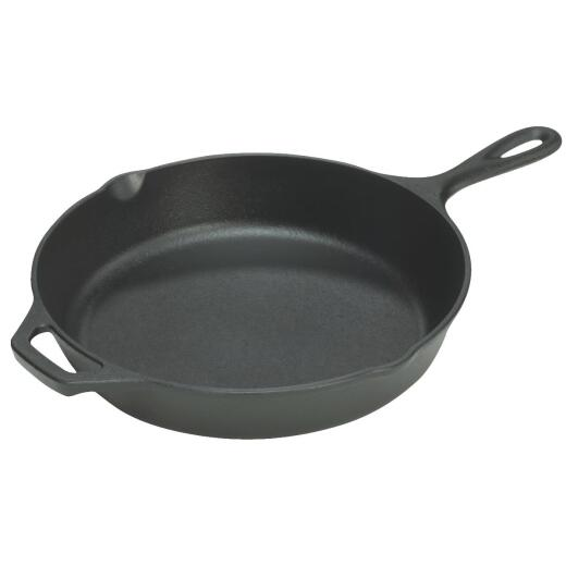 Lodge 15-1/4 In. Cast Iron Skillet with Assist Handle