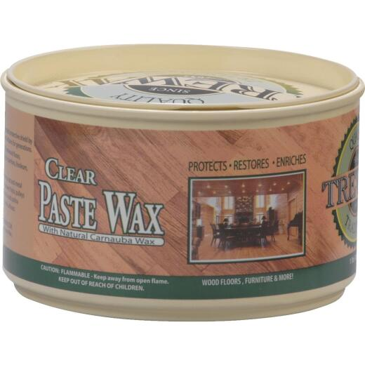 Trewax 12.35 Oz. Clear Paste Wax