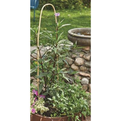 Best Garden 3 Ft. H. Natural Bamboo U-Hoop Plant Support (3-Pack)