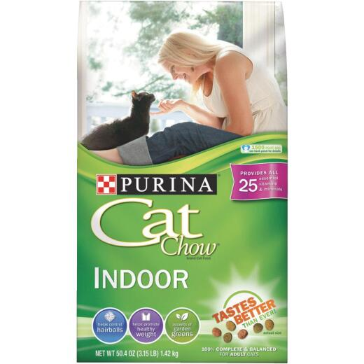 Purina Cat Chow Weight and Hairball Care 3.15 Lb. Adult Cat Food