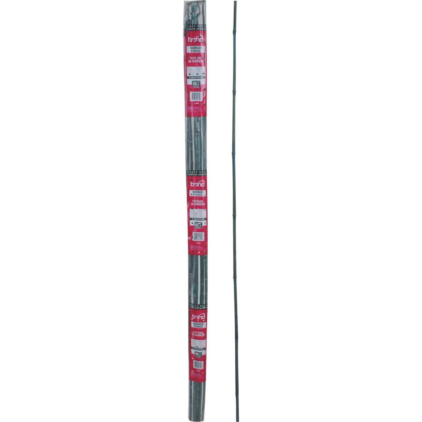 Bond 6 Ft. Green Bamboo Plant Stakes (6-Pack) Image 2