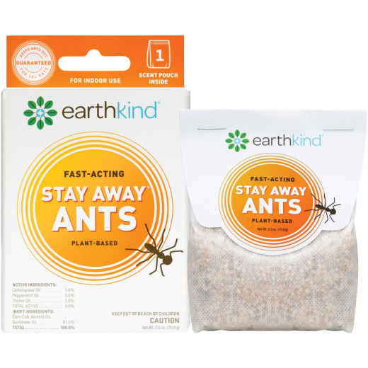 Earth Kind Stay Away 30 to 60-Day Natural Ant Repellent Refill Pouch