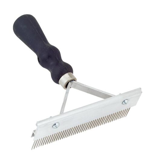 Decker 6 In. Curling Comb