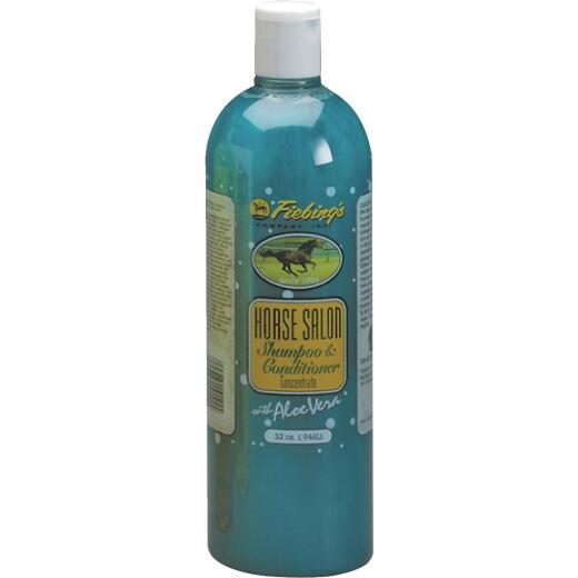 Fiebing's 32 Oz. Squeeze Bottle Horse Salon Shampoo & Conditioner