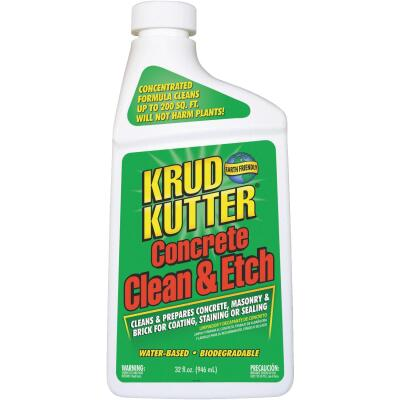 Krud Kutter 32 Oz. Concrete Clean & Etch Concentrate