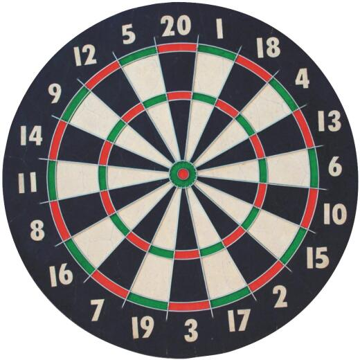 Franklin 18 In. Dia. x 1 In. Thick Dartboard